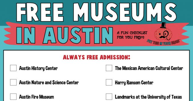 free museums in austin checklist
